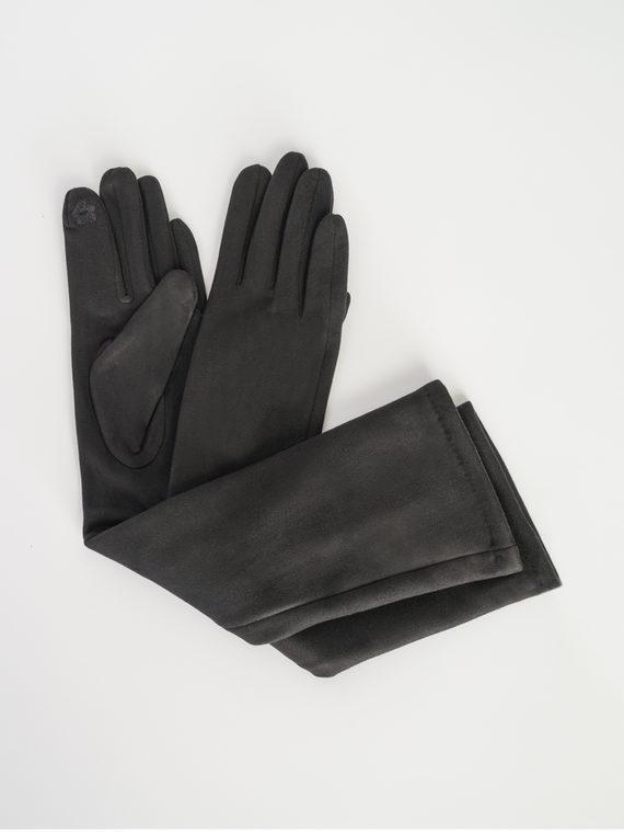 Перчатки трикотаж, цвет черный, арт. 18107984  - цена 690 руб.  - магазин TOTOGROUP