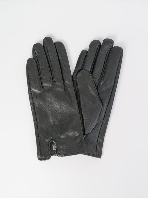 Перчатки кожа , цвет черный, арт. 18107989  - цена 1490 руб.  - магазин TOTOGROUP