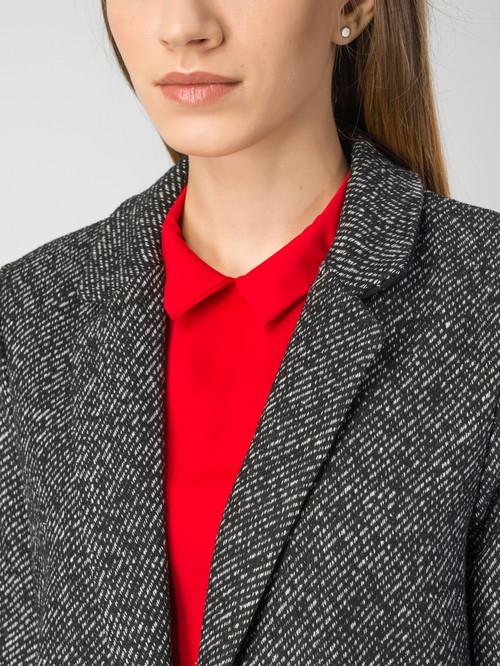Текстильное пальто артикул 18108101/40 - фото 4