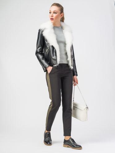 Кожаная куртка эко-кожа 100% П/А, цвет черный, арт. 18108153  - цена 7990 руб.  - магазин TOTOGROUP