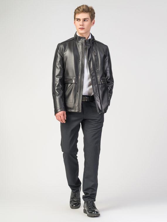 Кожаная куртка кожа , цвет черный, арт. 18108229  - цена 18990 руб.  - магазин TOTOGROUP
