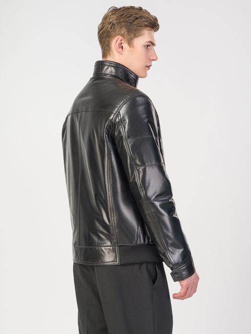 Кожаная куртка артикул 18108233/48 - фото 3