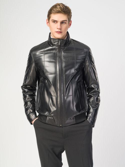 Кожаная куртка артикул 18108233/48