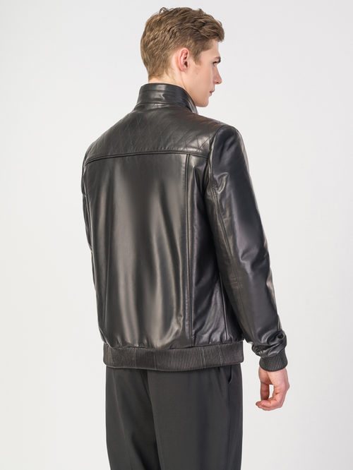 Кожаная куртка артикул 18108235/50 - фото 3