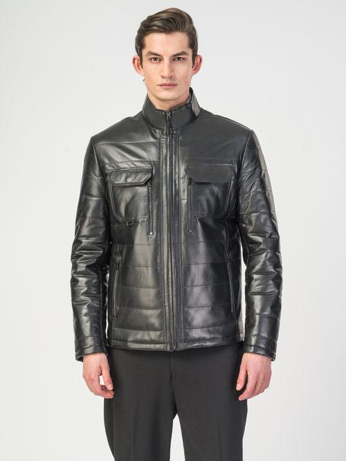 Кожаная куртка артикул 18108239/54 - фото 2