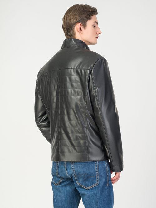 Кожаная куртка артикул 18108242/46 - фото 3