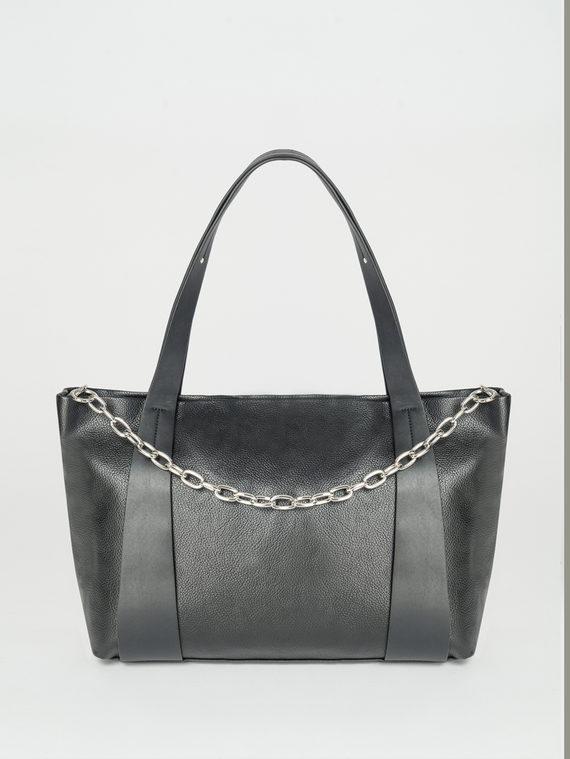 Сумка эко-кожа флоттер, цвет черный, арт. 18108248  - цена 1950 руб.  - магазин TOTOGROUP