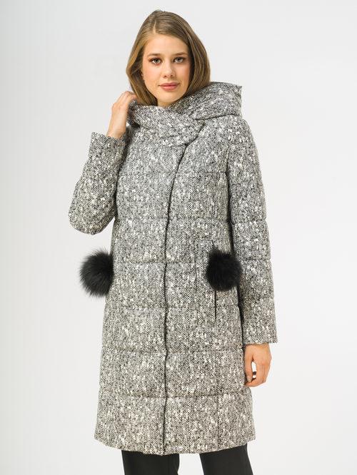 Кожаное пальто артикул 18108271/44 - фото 2