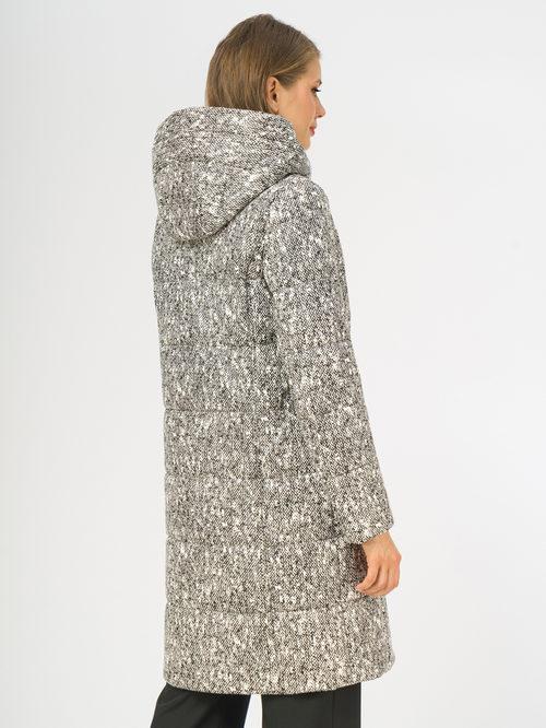 Кожаное пальто артикул 18108271/44 - фото 3