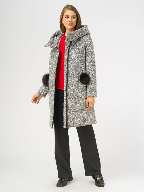 Кожаное пальто артикул 18108271/44