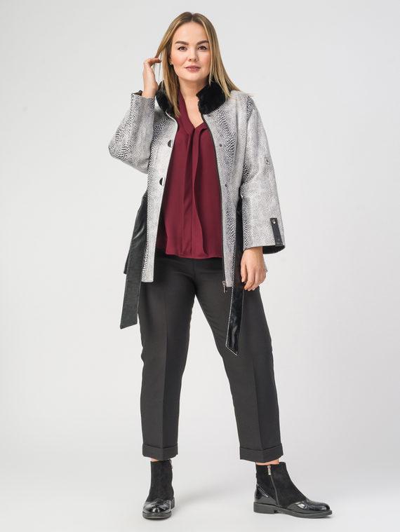 Кожаная куртка эко-кожа 100% П/А, цвет микс, арт. 18108279  - цена 11290 руб.  - магазин TOTOGROUP