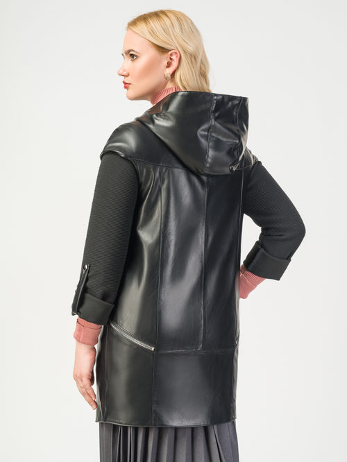 Кожаная куртка артикул 18108280/44 - фото 3