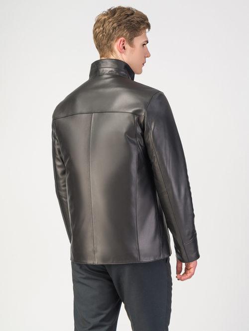 Кожаная куртка артикул 18108299/52 - фото 3
