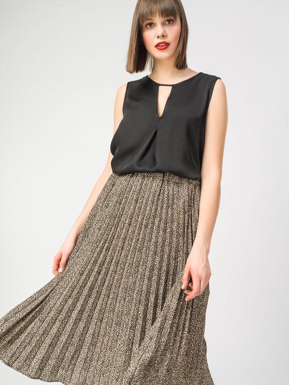 Блуза 100% вискоза, цвет черный, арт. 18108324  - цена 2420 руб.  - магазин TOTOGROUP