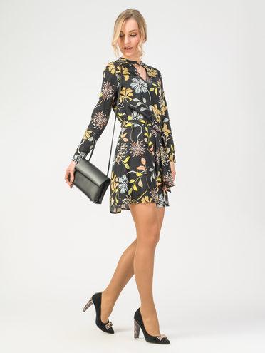 Платье 100% вискоза, цвет черный, арт. 18108336  - цена 2060 руб.  - магазин TOTOGROUP