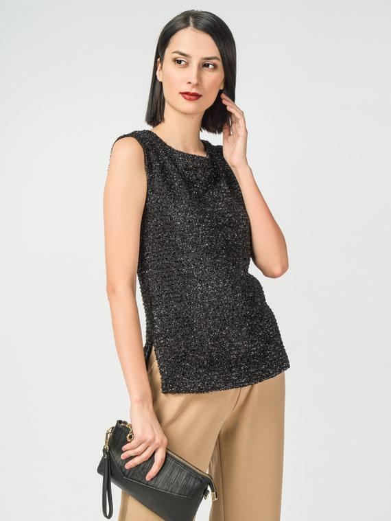 Блуза 100% полиэстер, цвет черный, арт. 18108339  - цена 2840 руб.  - магазин TOTOGROUP
