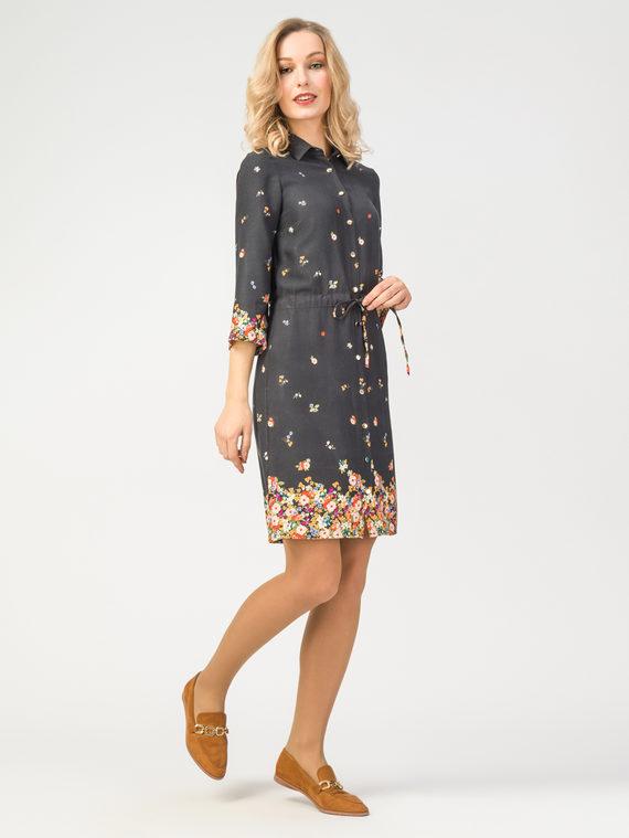Платье 100% вискоза, цвет черный, арт. 18108361  - цена 3590 руб.  - магазин TOTOGROUP