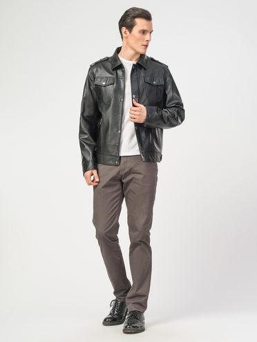 Кожаная куртка эко-кожа 100% П/А, цвет черный, арт. 18108388  - цена 4260 руб.  - магазин TOTOGROUP