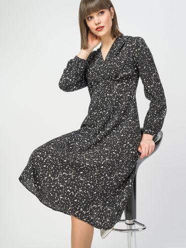 Платье 100% полиэстер, цвет черный, арт. 18108411  - цена 940 руб.  - магазин TOTOGROUP