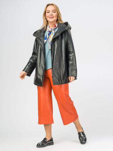 Кожаная куртка кожа , цвет черный, арт. 18108461  - цена 11290 руб.  - магазин TOTOGROUP