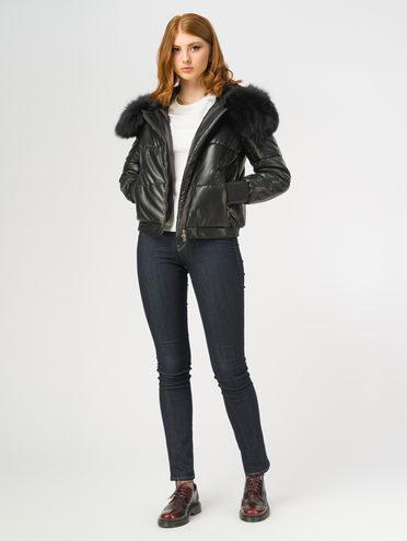 Кожаная куртка эко-кожа 100% П/А, цвет черный, арт. 18108468  - цена 9490 руб.  - магазин TOTOGROUP