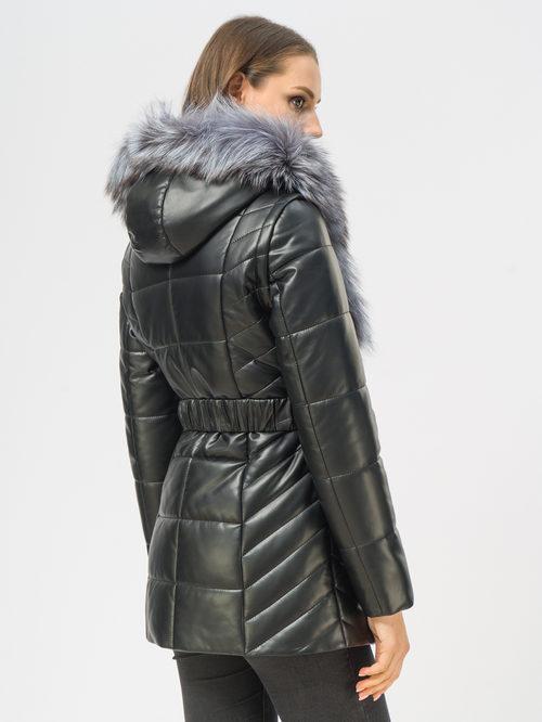 Кожаная куртка артикул 18108844/42 - фото 3