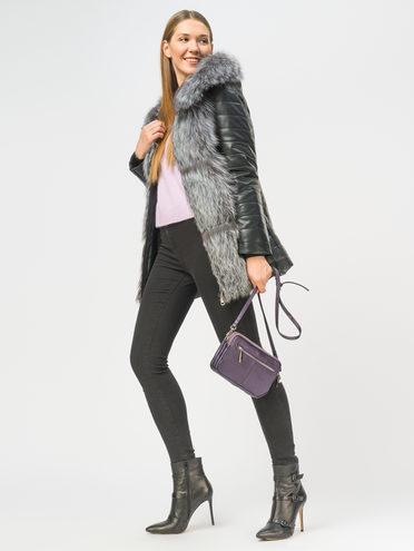Кожаная куртка эко-кожа 100% П/А, цвет черный, арт. 18108845  - цена 17990 руб.  - магазин TOTOGROUP