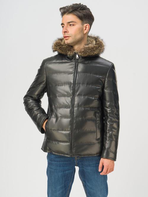 Кожаная куртка артикул 18108868/48 - фото 2