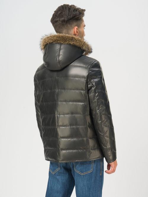 Кожаная куртка артикул 18108868/48 - фото 3