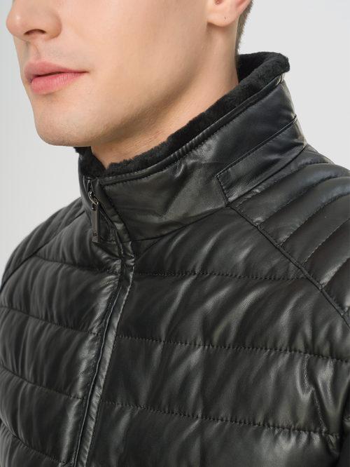 Кожаная куртка артикул 18108870/46 - фото 4