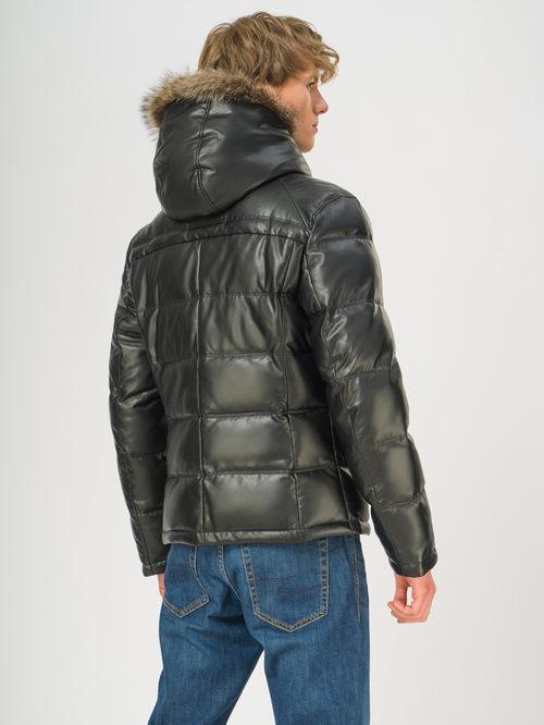 Кожаная куртка артикул 18108871/48 - фото 3