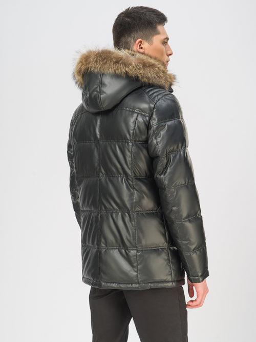 Кожаная куртка артикул 18108874/48 - фото 3