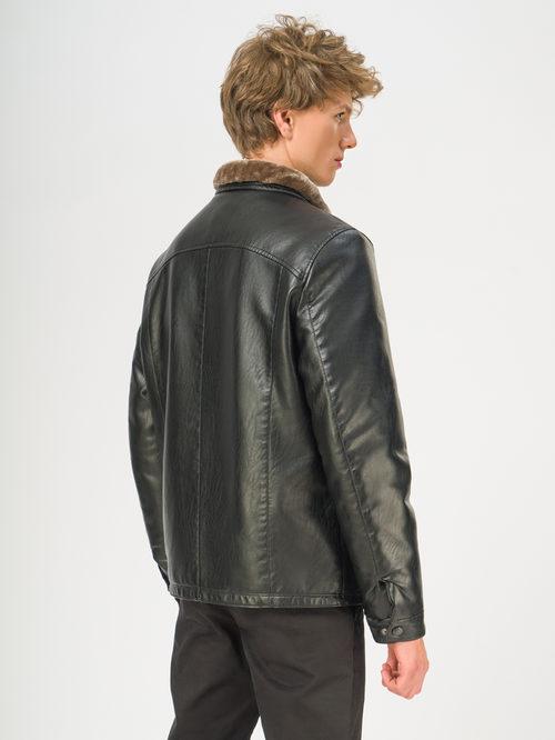 Кожаная куртка артикул 18108925/46 - фото 3