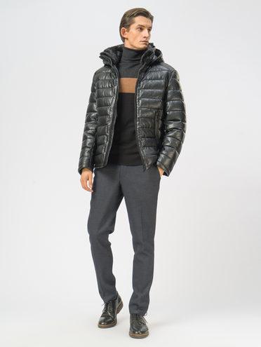 Кожаная куртка эко-кожа 100% П/А, цвет черный, арт. 18108961  - цена 11290 руб.  - магазин TOTOGROUP