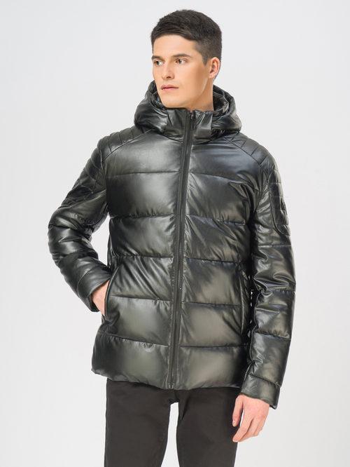 Кожаная куртка артикул 18108990/54 - фото 2