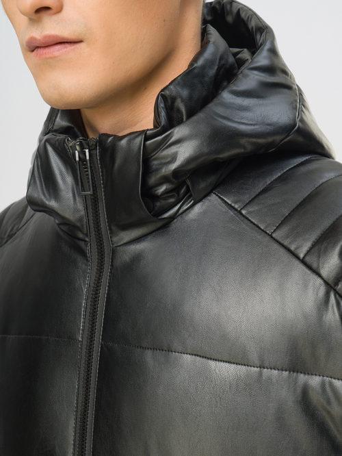 Кожаная куртка артикул 18108990/54 - фото 4