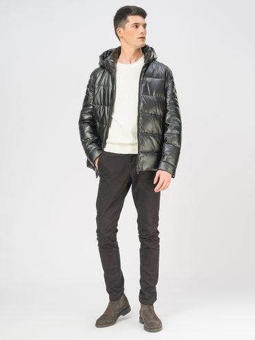 Кожаная куртка эко-кожа 100% П/А, цвет черный, арт. 18108990  - цена 4990 руб.  - магазин TOTOGROUP