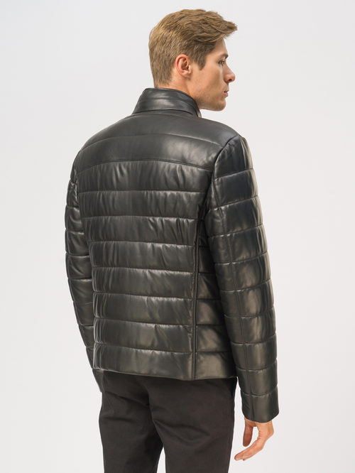 Кожаная куртка артикул 18109016/46 - фото 3