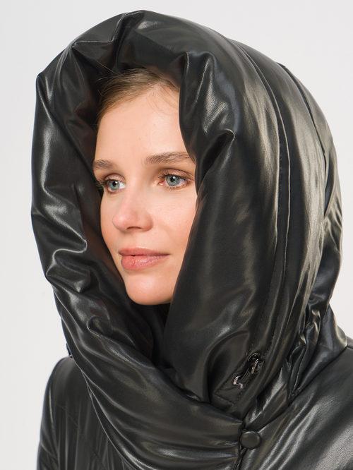 Кожаное пальто артикул 18109019/48 - фото 4