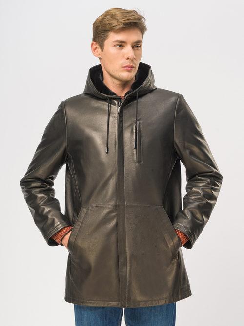 Кожаная куртка артикул 18109029/46 - фото 2