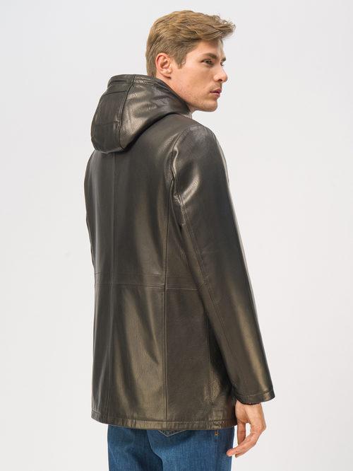 Кожаная куртка артикул 18109029/46 - фото 3