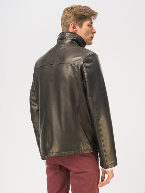 Кожаная куртка артикул 18109030/46 - фото 3