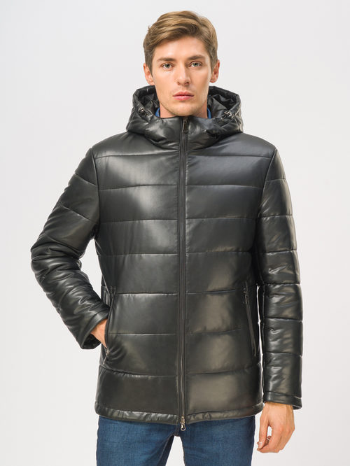 Кожаная куртка артикул 18109044/48 - фото 2