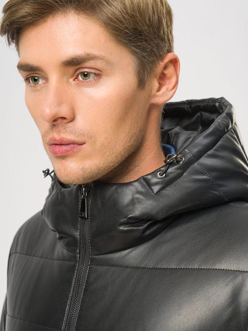 Кожаная куртка артикул 18109044/48 - фото 4