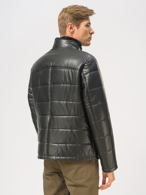Кожаная куртка артикул 18109045/48 - фото 3