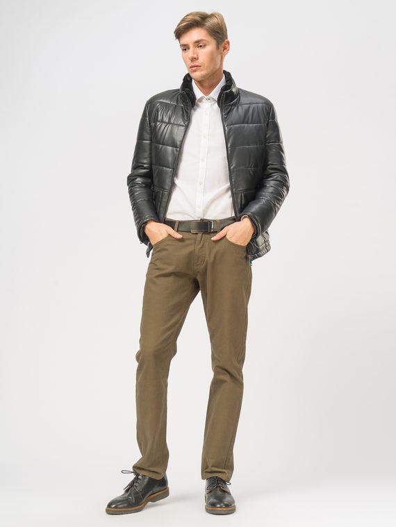 Кожаная куртка эко-кожа 100% П/А, цвет черный, арт. 18109045  - цена 5590 руб.  - магазин TOTOGROUP