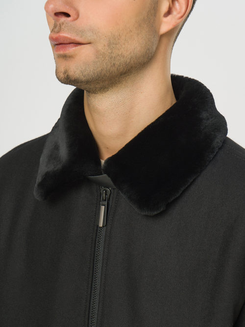 Текстильное пальто артикул 18109071/48 - фото 4