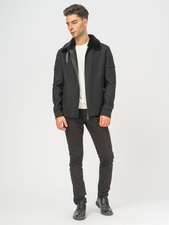 Текстильное пальто , цвет черный, арт. 18109071  - цена 5890 руб.  - магазин TOTOGROUP