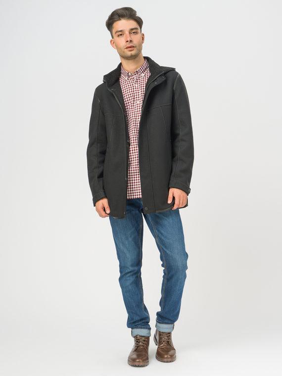Текстильное пальто , цвет черный, арт. 18109073  - цена 5590 руб.  - магазин TOTOGROUP