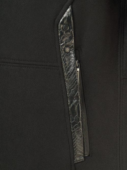 Текстильное пальто артикул 18109074/48 - фото 4